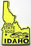 Idaho State Outline Magnet Design 1